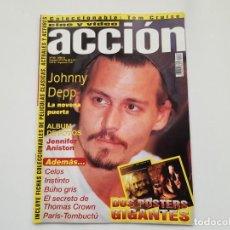 Cine: REVISTA ACCIÓN Nº 88 - TOM CRUISE, DRÁCULA, JOHNNY DEEP, JENNIFER ANISTON. Lote 231324070