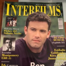 Cine: INTERFILMS NÚMERO 168. NOVIEMBRE 2002. BEN AFFLECK. Lote 231349770