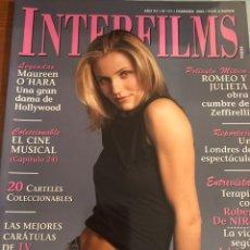 Cine: INTERFILMS NÚM 171. FEBRERO 2003. CAMERON DIAZ. Lote 231352095