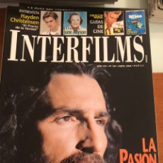 Cine: INTERFILMS NÚM 184. ABRIL 2004. LA PASIÓN DE CRISTO. Lote 231354935