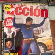 Cine: ACCIÓN CINE Y VÍDEO + SUPLEMENTO TODO SUPERMAN(EXTRA DE 48 PÁGS). NÚM 170. AÑO 15. POSTERS INCLUIDOS. Lote 231636970