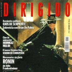 Cinema: DIRIGIDO POR... Nº 273. Lote 231741235