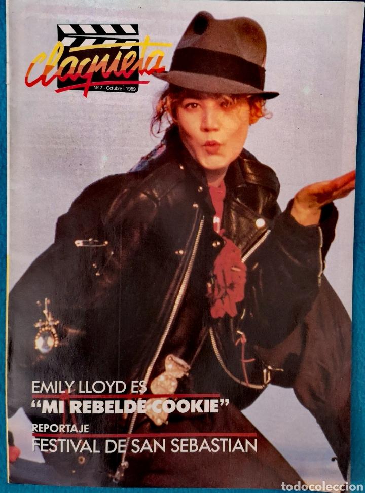 CLAQUETA - N° 7 OCTUBRE 1989 (Cine - Revistas - Claqueta)