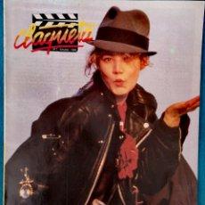 Cine: CLAQUETA - N° 7 OCTUBRE 1989. Lote 231832850