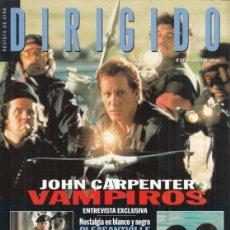 Cine: REVISTA DIRIGIDO POR Nº 274 AÑO 1998. JOHN CARPENTER VAMPIROS. HENRY HATHAWAY. VALLODOLID 98.. Lote 231860805