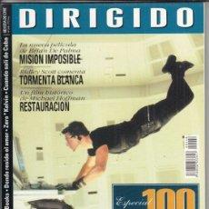 Cine: REVISTA DIRIGIDO POR Nº 248 AÑO 1996. MISION IMPLOSIBLE. TORMENTA BLANCA. 100 AÑOS DE CINE ESPAÑOL. Lote 231864965