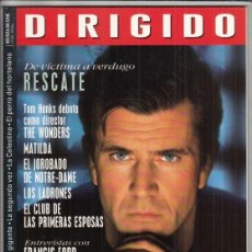 Cine: REVISTA DIRIGIDO POR Nº 252. RESCATE. COPPOL. DANNY DEVITO. ANDRE TECHINE. EL THRILLER MODERNO.. Lote 231865485