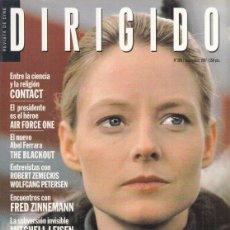 Cine: REVISTA DIRIGIDO POR Nº 260 AÑO 1997. CONTACT. .EL TRHILLER SEGUN CLINT EASTWOOD. ROBERT ZEMECKIS.. Lote 231866215