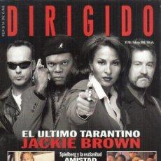 Cine: REVISTA DIRIGIDO POR Nº 265 AÑO 1998. JACKIE BROWN. QUENTIN TARANTINO. KEVIN COSTNER. CARLOS SALURA.. Lote 231867135