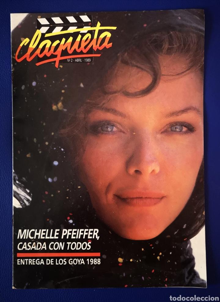 CLAQUETA - N°2 - ABRIL 1989 (Cine - Revistas - Claqueta)
