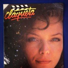 Cine: CLAQUETA - N°2 - ABRIL 1989. Lote 231951440
