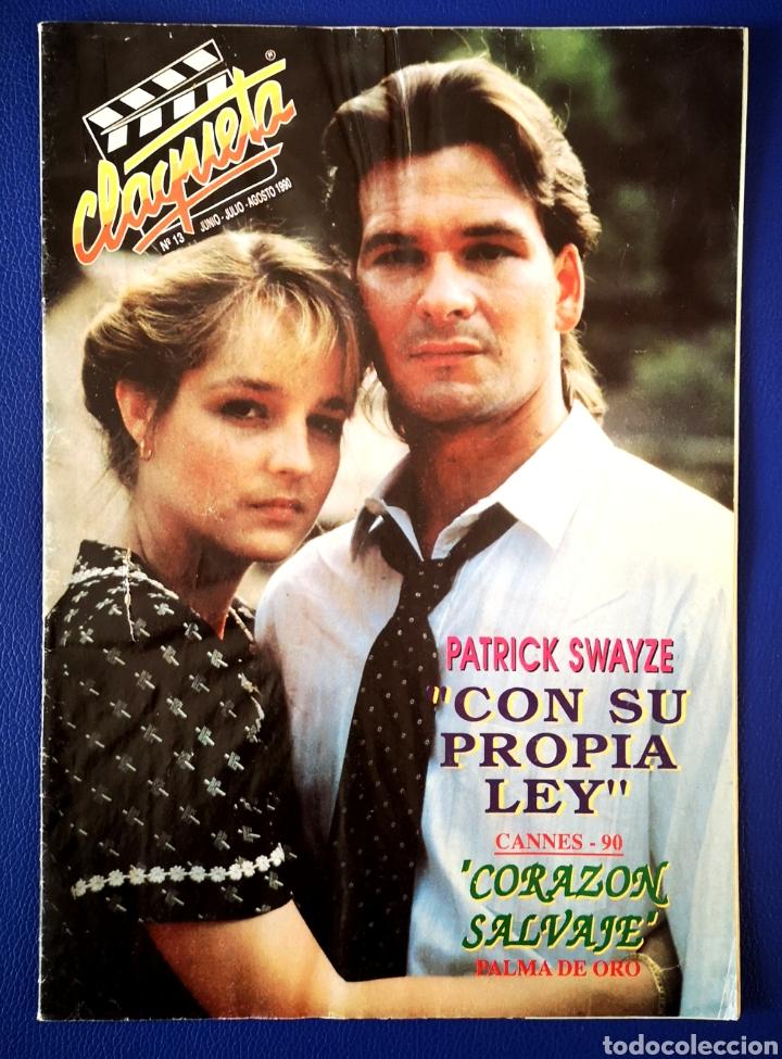 CLAQUETA - N° 13 AGOSTO 1990 (Cine - Revistas - Claqueta)