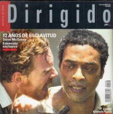 Cine: REVISTA DIRIGIDO POR Nº 439 AÑO 2013. 12 AÑOS DE EXCLAVITUD STEVE MCQEEN. DOSSIER SAM PECKINPAH.. Lote 231967675