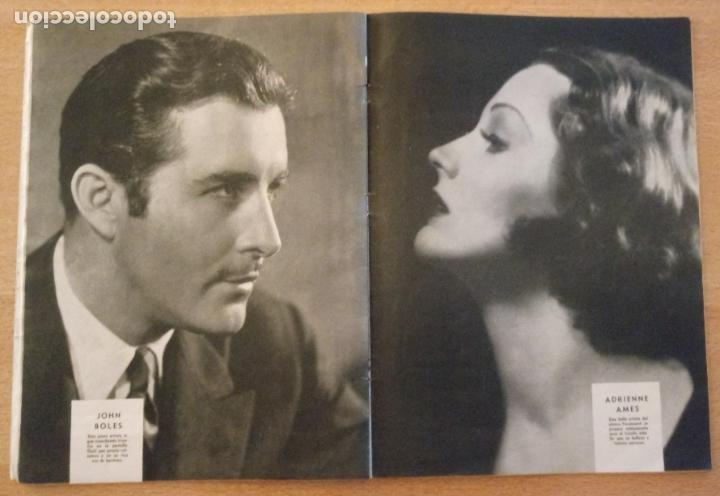 Cine: T - REVISTA CINELANDIA - ABRIL 1933 - TOMO VII - Nº 4 - CLAUDETTE COLBERT - Foto 6 - 232098005