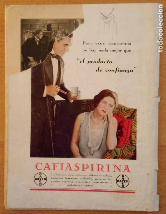 Cine: T - REVISTA CINELANDIA - ABRIL 1933 - TOMO VII - Nº 4 - CLAUDETTE COLBERT - Foto 7 - 232098005