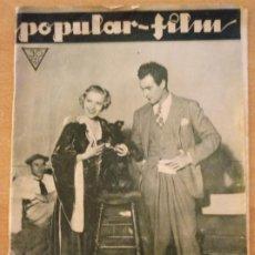 Cine: T - REVISTA POPULAR-FILM - Nº 379 - AÑO VIII - 16 NOVIEMBRE 1933 - DON QUIJOTE VISTO POR PABST. Lote 232106785