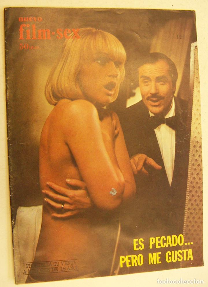 NUEVO FILM SEX Nº 12 - ES PECADO..PERO ME GUSTA 1977 (Cine - Revistas - Otros)