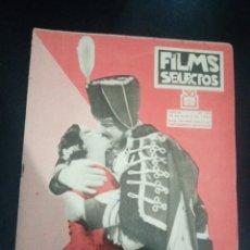 Cinema: REVISTA FILMS SELECTOS 1933, JEAN CRAWFORD, CARLOS GARDEL, MARLENE DIETRICH, DORIS DAWSON. Lote 232480965