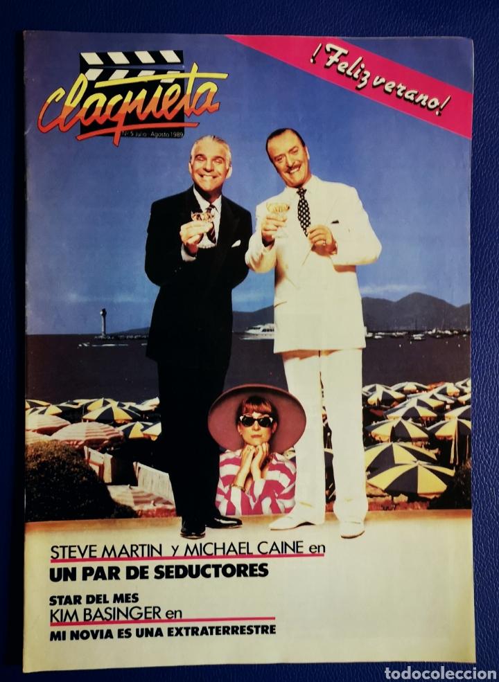 CLAQUETA - N° 5 - JULIO 1989 (Cine - Revistas - Claqueta)