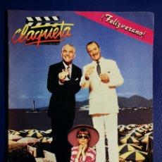 Cine: CLAQUETA - N° 5 - JULIO 1989. Lote 232487341