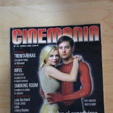 Cine: CINEMANÍA NÚMERO 81 - JUNIO 2002. Lote 232563006
