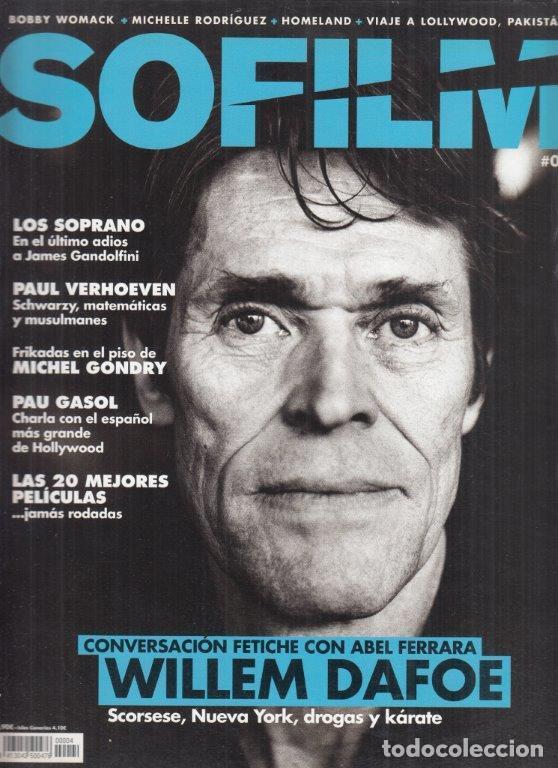 REVISTA SOFILM Nº 4 AÑO 2013. WILLEM DAFOE. LOS SOPRANO. PAUL VERHOEVEN. PAU GASOL. (Cine - Revistas - Otros)