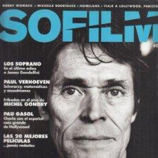 Cinéma: REVISTA SOFILM Nº 4 AÑO 2013. WILLEM DAFOE. LOS SOPRANO. PAUL VERHOEVEN. PAU GASOL.. Lote 232594785
