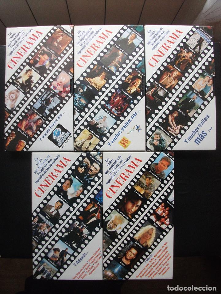Cine: CINERAMA, 17 REVISTAS, SE INCLUYE 7 PRIMERAS ENTREGAS DEL DICCIONARIO DE ACTORES Y 5 CINTAS VHS - Foto 13 - 208342841
