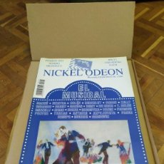 Cine: REVISTA NICKEL ODEON Nº 25 AÑO 2001. EL MUSICAL.. Lote 232807820