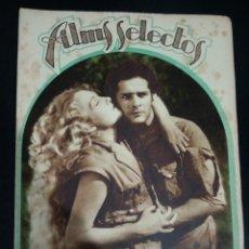 Cinema: REVISTA FILMS SELECTOS 1931, CARLOS GARDEL, GRETA GARBO, MARLENE DIETRICH, GARY COOPER,. Lote 232850270