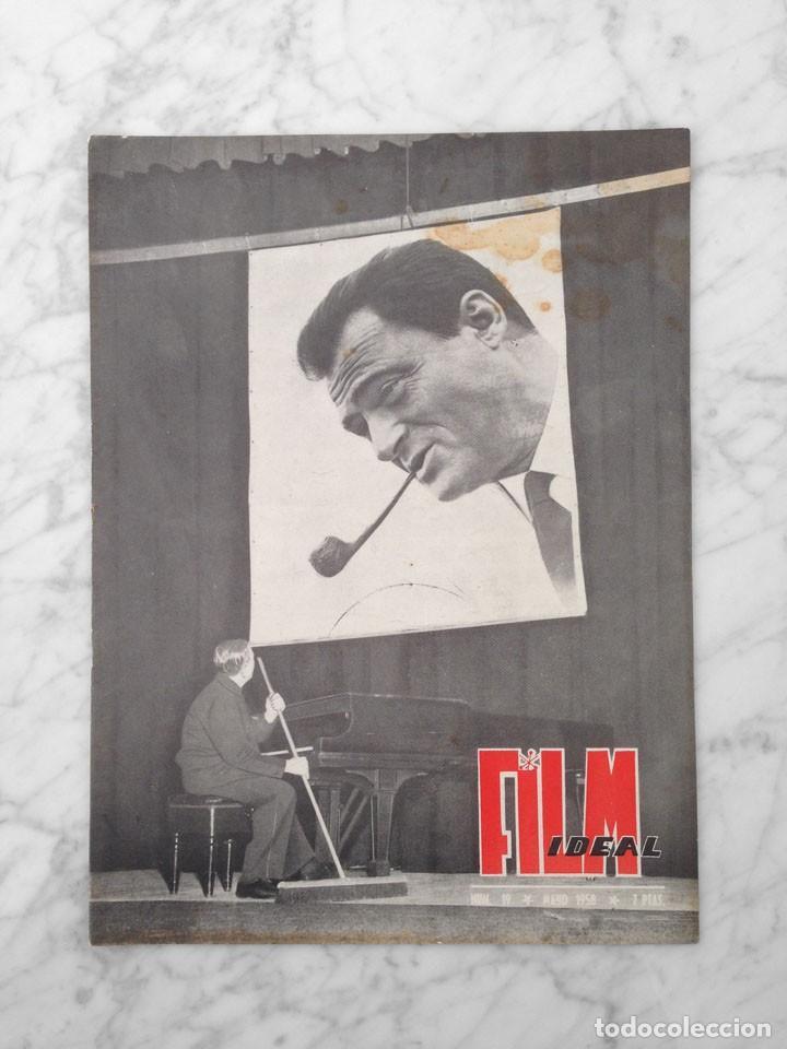 FILM IDEAL - Nº 19 - 1958 - MIKE TODD, GARY COOPER, FRED ZINNEMANN, OSCARS, CHARLOT (Cine - Revistas - Film Ideal)