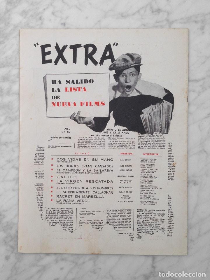 Cine: FILM IDEAL - Nº 21-22 - 1958 - CRITICA DEL CINE ESPAÑOL, ORSON WELLES, DON QUIJOTE - Foto 2 - 233217325