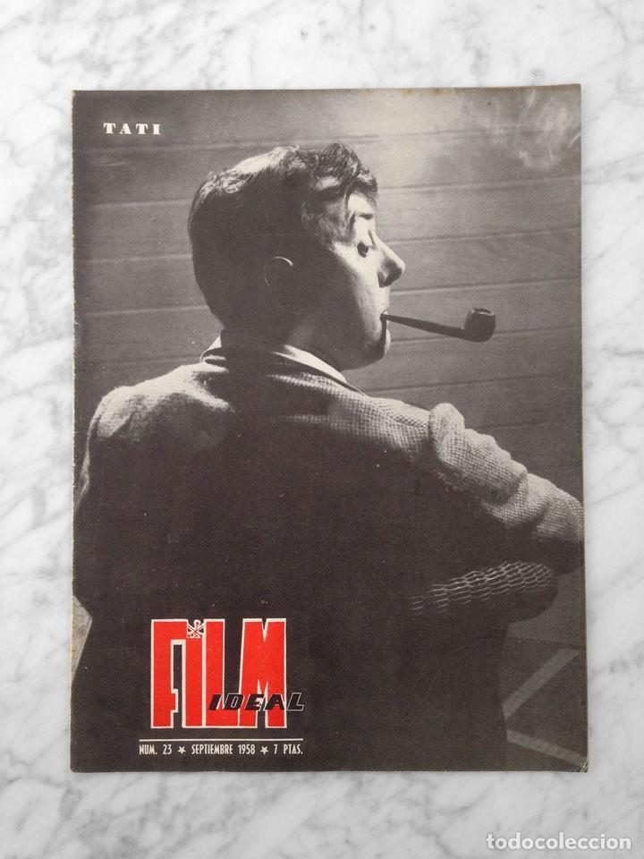 FILM IDEAL - Nº 23 - 1958 - TATI, BEN HUR, LUZ MARQUEZ, LA TELEVISION, CINE AMATEUR, KAREL ZEMAN (Cine - Revistas - Film Ideal)