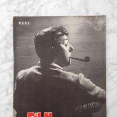 Cine: FILM IDEAL - Nº 23 - 1958 - TATI, BEN HUR, LUZ MARQUEZ, LA TELEVISION, CINE AMATEUR, KAREL ZEMAN. Lote 233218765