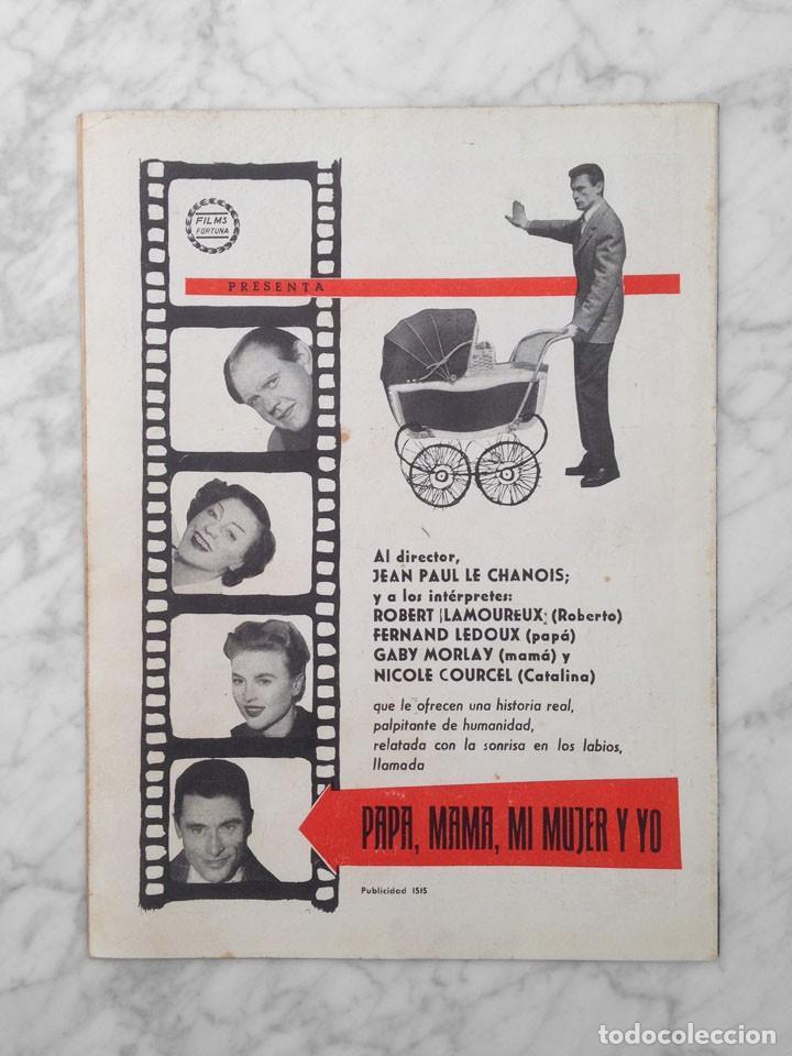 Cine: FILM IDEAL - Nº 23 - 1958 - TATI, BEN HUR, LUZ MARQUEZ, LA TELEVISION, CINE AMATEUR, KAREL ZEMAN - Foto 2 - 233218765