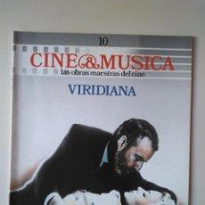 Cine: CINE & MÚSICA. FASCÍCULO 10 VIRIDIANA. Lote 233386095