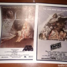 Cine: STAR WARS-EMPIRE-2 PROGRAMAS MODERNOS-. Lote 233756175