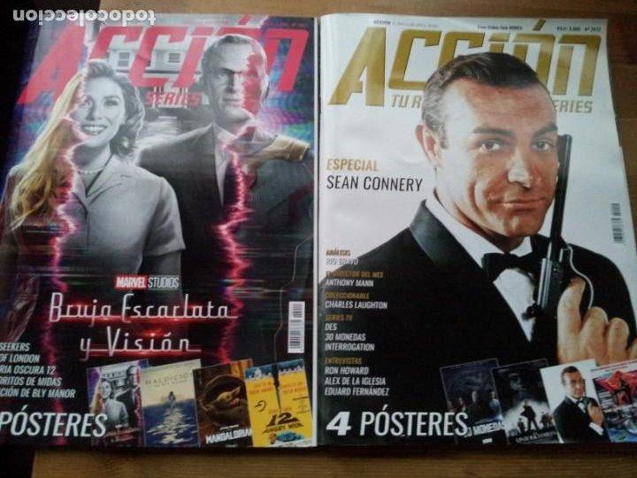 Cine: lote 8 revistas de cine - accion - Nº 2003,2005,2006,2007,2008,2010,2011,2012 - año 2020 con posters - Foto 4 - 234100260