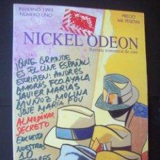 Cine: REVISTA NICKEL ODEON Nº 1. INVIERNO 1995. ALMODOVAR . CON PORTADA DE URCULO. Lote 234301265