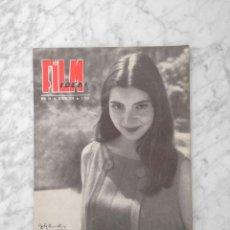 Cine: FILM IDEAL - Nº 24 - 1958 - JACQUELINE SASSARD, MOSTRA DE VENECIA, SARA MONTIEL, CHARLOT. Lote 234321900