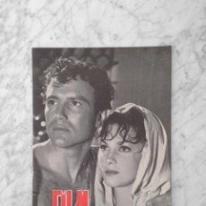 Cine: FILM IDEAL - Nº 25 - 1958 - ISABELLE CAREY, ANTONIO DE TEFFE, INGMAR BERGMAN, ALEC GUINNESS. Lote 234323555