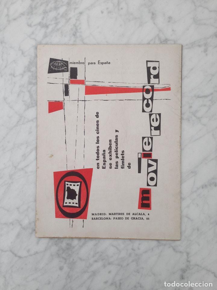 Cine: FILM IDEAL - Nº 26 - 1958 - MARIFE DE TRIANA, CINE INFANTIL, ALELUYA, TYRONE POWER, LUIGI ZAMPA - Foto 2 - 234324860