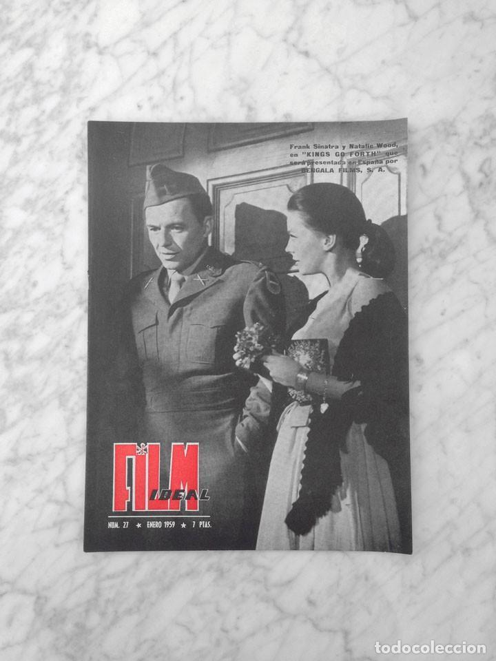 FILM IDEAL - Nº 27 - 1959 - FRANK SINATRA, NATALIE WOOD, CINERAMA, MARCEL CARNE, RENE CLAIR, LIZZANI (Cine - Revistas - Film Ideal)