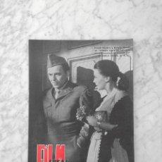 Cine: FILM IDEAL - Nº 27 - 1959 - FRANK SINATRA, NATALIE WOOD, CINERAMA, MARCEL CARNE, RENE CLAIR, LIZZANI. Lote 234326410