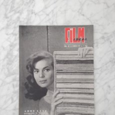 Cine: FILM IDEAL - Nº 28 - 1959 - ABBE LANE, MIGUEL DE MIGUEL, CECIL B. DE MILLE, LOS DIEZ MANDAMIENTOS. Lote 234327375