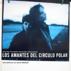 Cinema: LOS AMANTES DEL CIRCULO POLAR. Lote 234403200