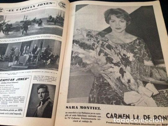 Cine: FILM IDEAL - Nº 24 - 1958 - JACQUELINE SASSARD, MOSTRA DE VENECIA, SARA MONTIEL, CHARLOT - Foto 3 - 234321900