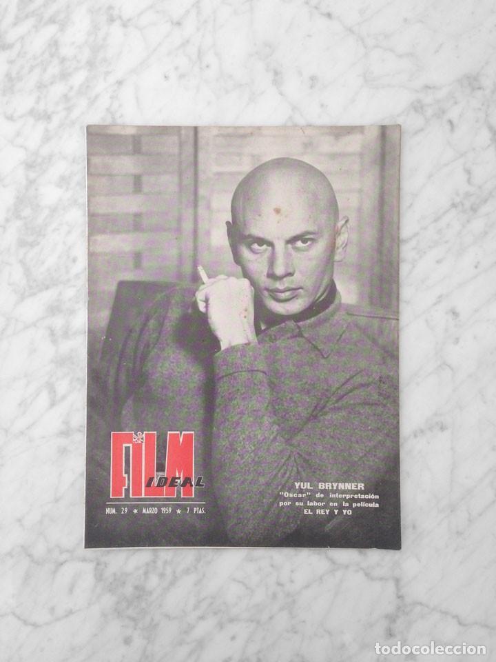 FILM IDEAL - Nº 29 - 1959 - YUL BRYNNER, PRESUPUESTO DE UNA PELICULA ESPAÑOLA (Cine - Revistas - Film Ideal)