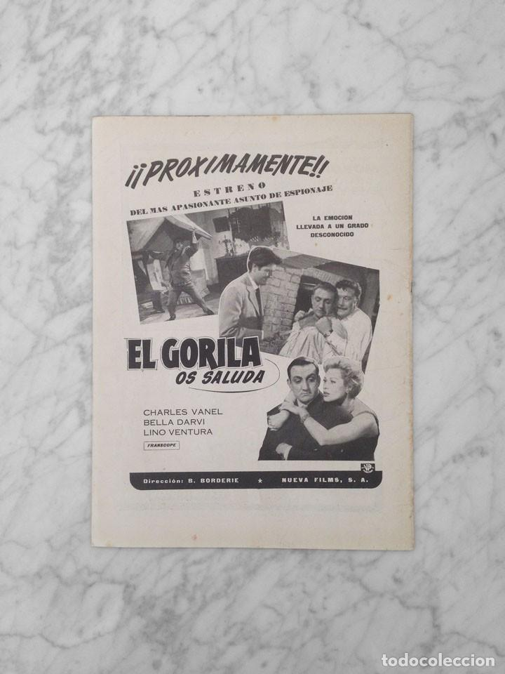 Cine: FILM IDEAL - Nº 29 - 1959 - YUL BRYNNER, PRESUPUESTO DE UNA PELICULA ESPAÑOLA - Foto 2 - 234647615