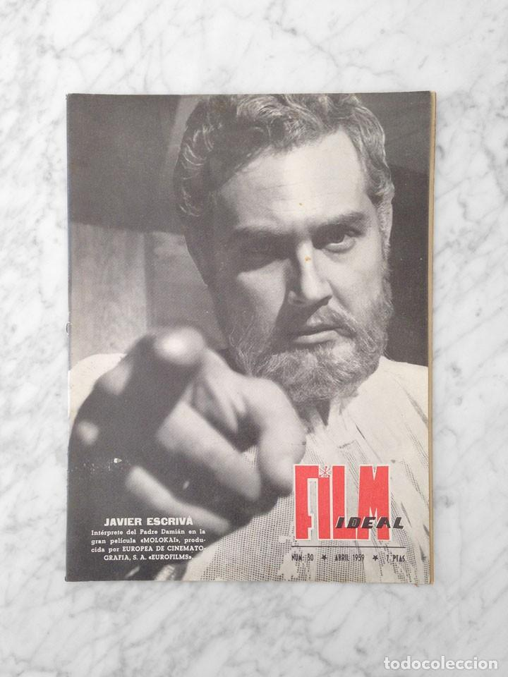 FILM IDEAL - Nº 30 - 1959 - JAVIER ESCRIVA, JOHN STEINBECK (Cine - Revistas - Film Ideal)